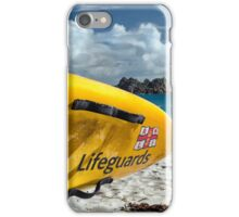 Porthcurno Surfboard iPhone Case/Skin