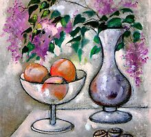 What's on the table ? - Fruit & flowers by mikejohnson