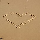 Heart in the Sand by shane22