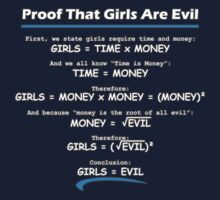 Girls are Evil :  Proof by flip20xx
