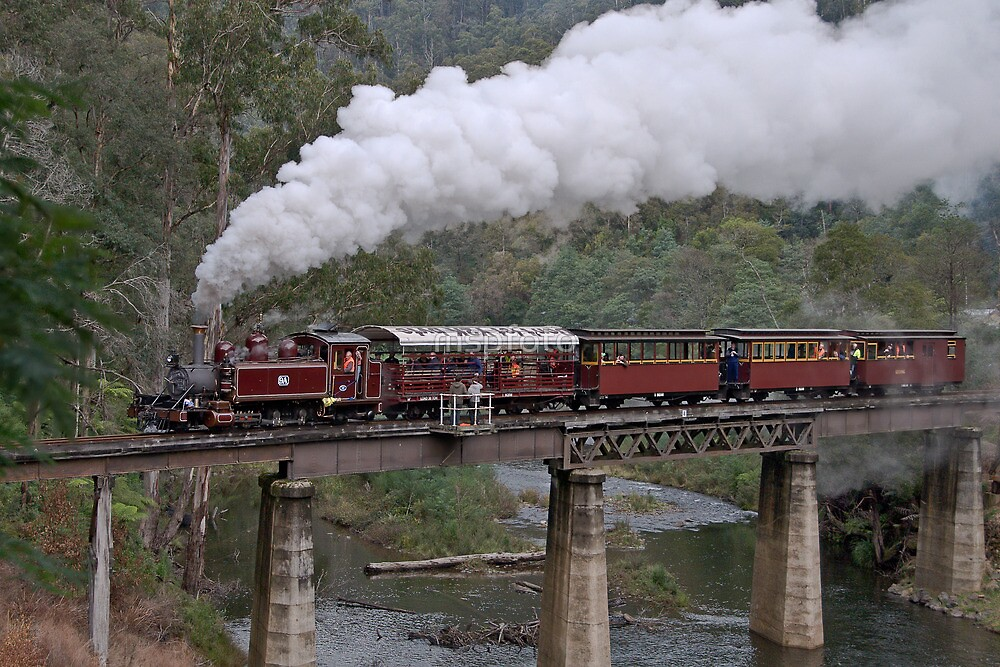 NA Returns to Walhalla Goldfield Railway by mspfoto