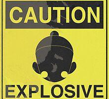 Caution Explosive by astevensdesigns