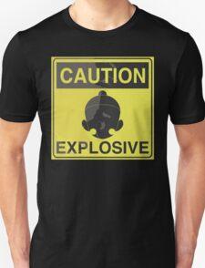 Caution Explosive Unisex T-Shirt