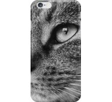 Windows to the Soul black and whte iPhone Case/Skin
