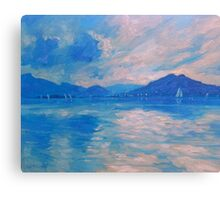 Wednesday Sailing Canvas Print