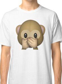 Monkey Emoji - Speak No Evil Classic T-Shirt
