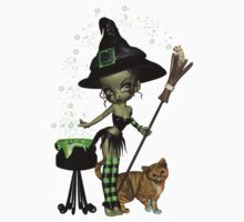 Little Earth Witch by LoneAngel
