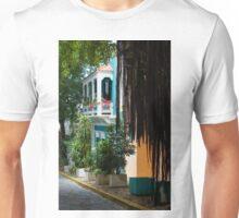 San Juan, Puerto Rico - Gorgeous Caribbean Colors and Flora Unisex T-Shirt