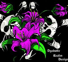 """""""flowers and skulls"""" by drdlenz"""