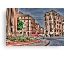 Beirut Down Town  Canvas Print