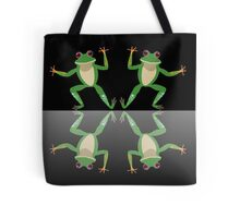 HAPPY DANCE BY FINGERS & TOES FROGS Tote Bag