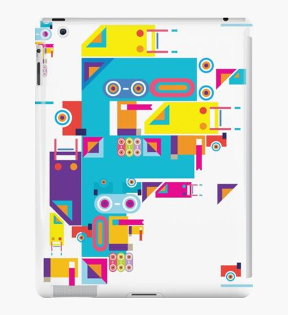 F graphics pattern iPad Case/Skin