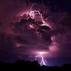 Lightning strike in Missouri by Gregg Williams
