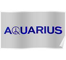 Aquarius TV Show Blue Poster