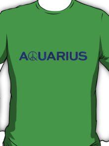 Aquarius TV Show Blue T-Shirt