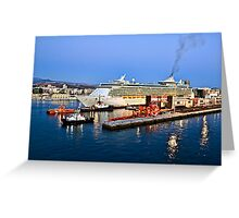 MS Independence of the Seas - Royal Caribbean Greeting Card