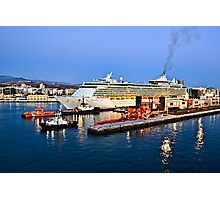 MS Independence of the Seas - Royal Caribbean Photographic Print