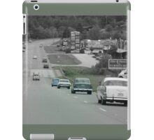 Driving Back In Time iPad Case/Skin