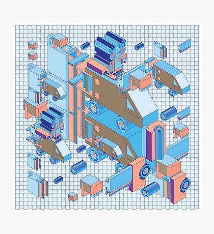 F graphics pattern 4 Photographic Print