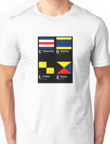 Hidden Meaning in Flags Unisex T-Shirt