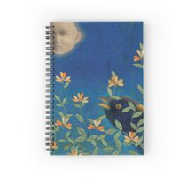Night Garden Spiral Notebook