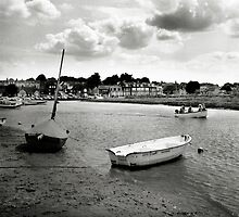 Looking back at Blakeney by Richard Flint