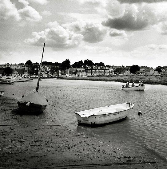 Looking back at Blakeney by Richard Flint