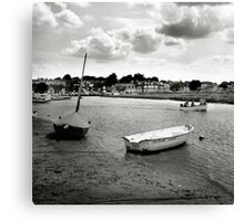 Looking back at Blakeney Canvas Print