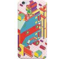 machine of robot vintage isometric iPhone Case/Skin