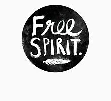 Free Spirit - Black Version Unisex T-Shirt