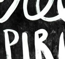 Free Spirit - Black Version Sticker