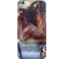 Dream Catcher - Spirit Horses iPhone Case/Skin