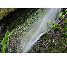 waterfalls Franny Reese Park Photographic Print