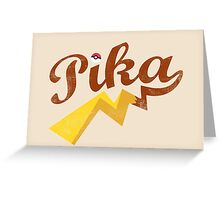 Pika Greeting Card