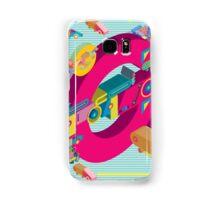 vector alphabet 3D letter G Samsung Galaxy Case/Skin