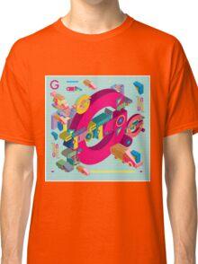 vector alphabet 3D letter G Classic T-Shirt