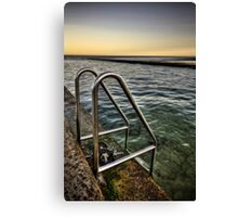 Weight Pool Canvas Print