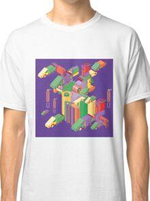 abstract robot machine Classic T-Shirt