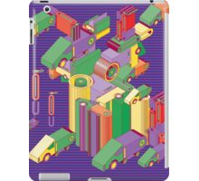 abstract robot machine iPad Case/Skin