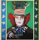 Mad Hatter Painting by Stormswept