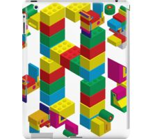 blocks constructor toys iPad Case/Skin