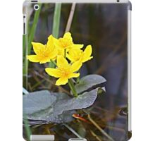 Marsh Marigolds iPad Case/Skin