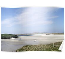 Hazy Summer Day, Uig Bay Lewis Poster
