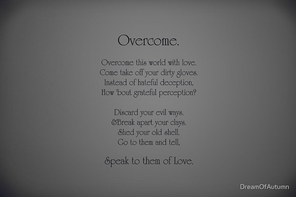 Overcome by DreamOfAutumn