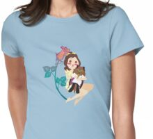 Beauty and her Beast Womens Fitted T-Shirt