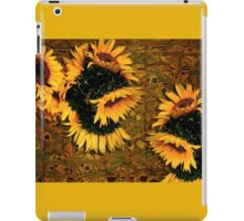 Sunflowers and Mexican Tile iPad Case/Skin