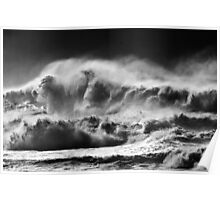 Winter Waves At Pipeline Poster
