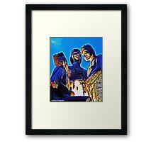 The Three Kings Of Juana Diaz Framed Print
