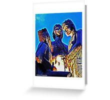 The Three Kings Of Juana Diaz Greeting Card