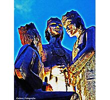 The Three Kings Of Juana Diaz Photographic Print